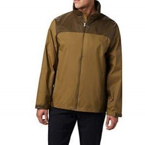 NEW Columbia windbreaker zip jacket extra large